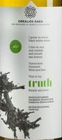 Label of Truth organic bottling